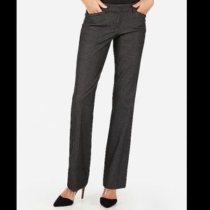 EXPRESS The Editor Dress Pants Slight Flare 00R